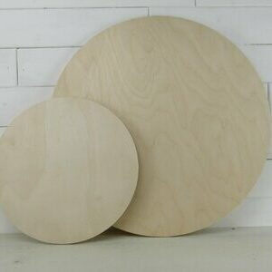 1/2″ Thick Wood Rounds