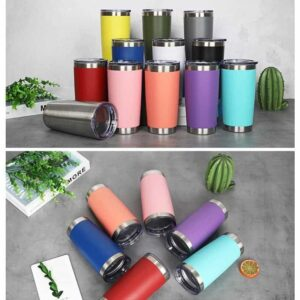 20oz Stainless Steel Tapered Tumbler