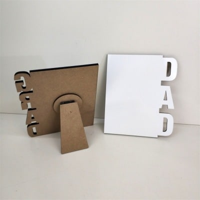 Dad and Grad Sublimation Photo Stand – Sublimation