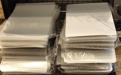Shrink Wrap Sleeves – Package of 50