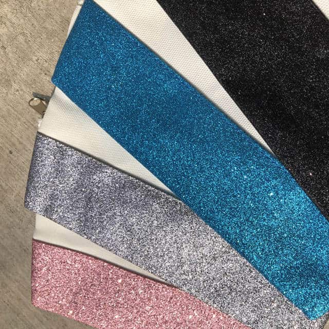 Glitter Cosmetic Bag – Sublimation