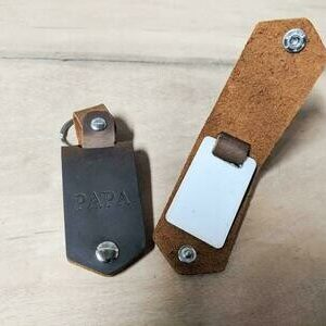 Leather Key Chain Sublimation