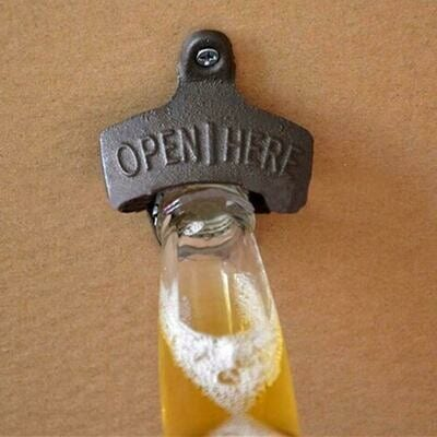 Bottle Opener – Cast Iron – 10 Openers
