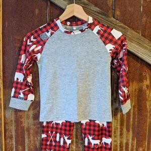 Matching Family PJ's – Plaid Woods