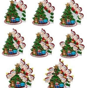 2020 Christmas Ornament Tree