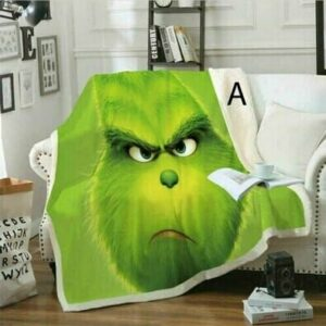 Grinch Blankets In Stock
