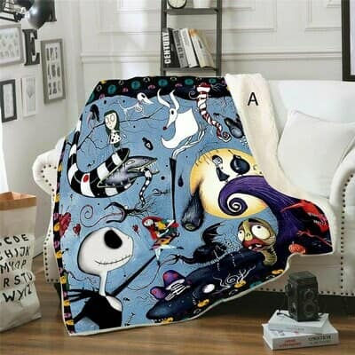 Nightmare Before Christmas Blankets In Stock