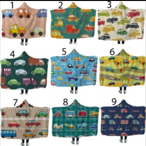 Cars Hooded Blankets In Stock