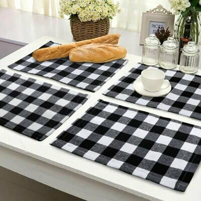 Buffalo Plaid Placemat – 2 Pack
