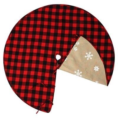 Buffalo Plaid Tree Skirt