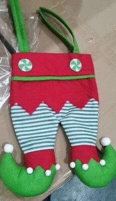 Elf Leg Stockings