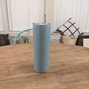 20oz Slightly Tapered Shimmer Tumbler Sublimation