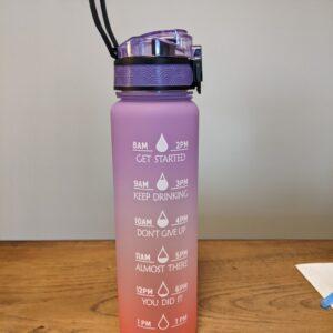 32oz Motivation Tritan Water Bottle