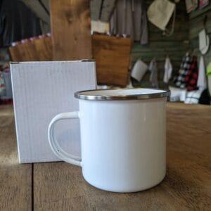 12oz Enamel Camp Mug Sublimation