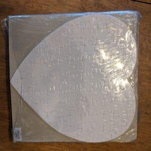 75 Piece Heart Sublimation Puzzle – 10 Pack