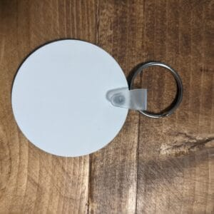 2″ Round MDF Key Chain Sublimation – 10 package
