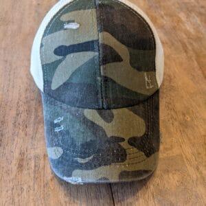 Unisex Distressed Baseball Hat
