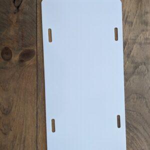 12×6″ Aluminum License Plate