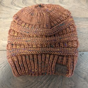 Slouch Hat with Ponytail Hole
