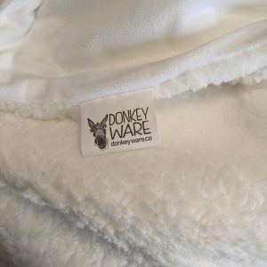 Throw Blanket Minky Fleece Sherpa Lined Sublimation