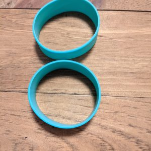 1″ Silicone Bands for 20oz Straight Skinny Tumbler – Come in 2's