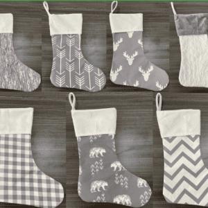 Grey & White Stockings Pre-Order